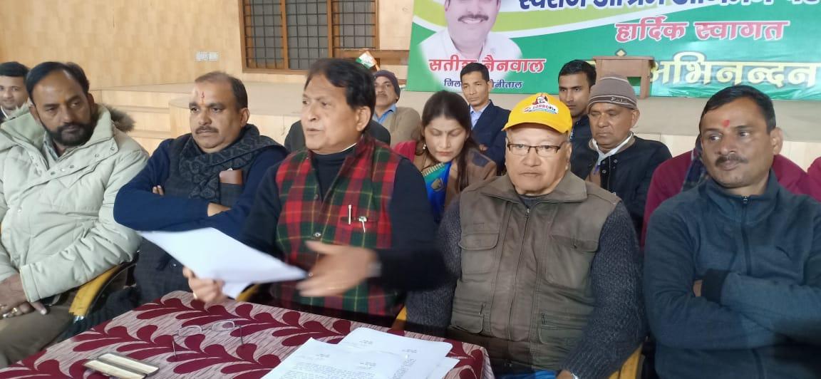 उत्तराखंड: पूर्व सांसदों ने लगाया प्रदेश सरकार पर विकास कार्यों को ठप करने का आरोप