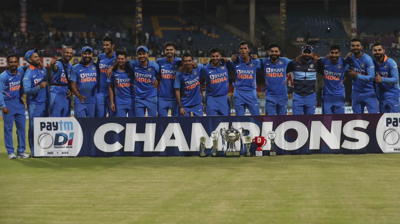 ऑस्ट्रेलिया को सात विकेट से हरा भारत ने किया 2-1 से सीरीज पर कब्जा
