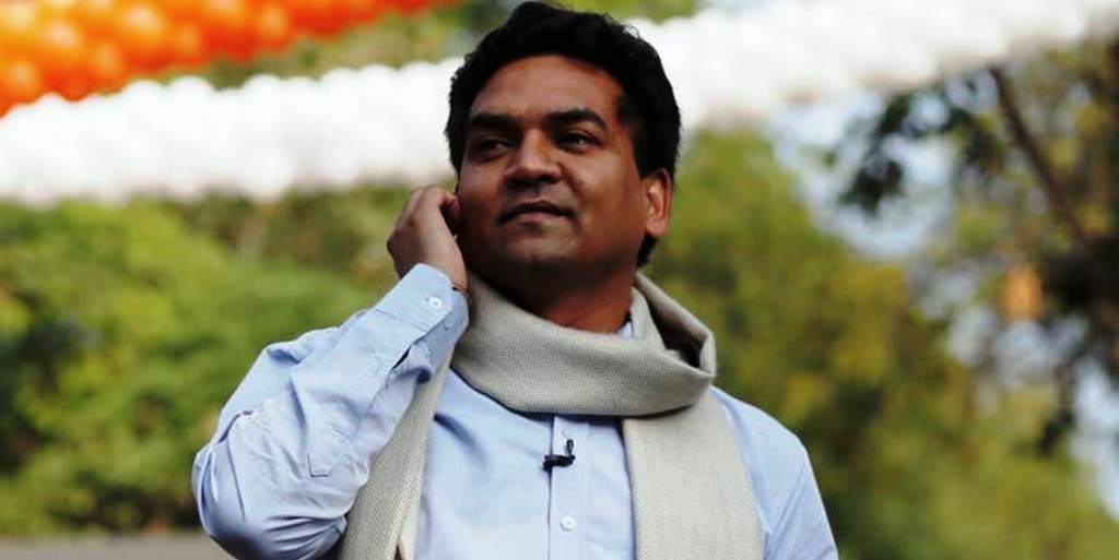AAP ने की कपिल मिश्रा का नामांकन रद्द करने की मांग