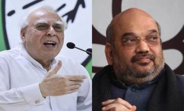 कपिल सिब्बल का अमित शाह पर पलटवार, कहा BJP राष्ट्र नहीं है
