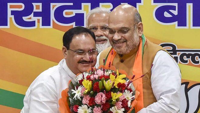BJP की कमान जेपी नड्डा को, 11वें राष्ट्रीय अध्यक्ष बने