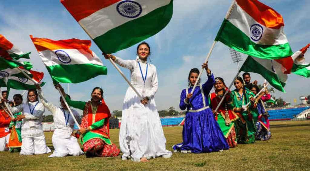 आज देश मना रहा है 71वां गणतंत्र दिवस, राजपथ पर दिखा अद्भुत नजारा