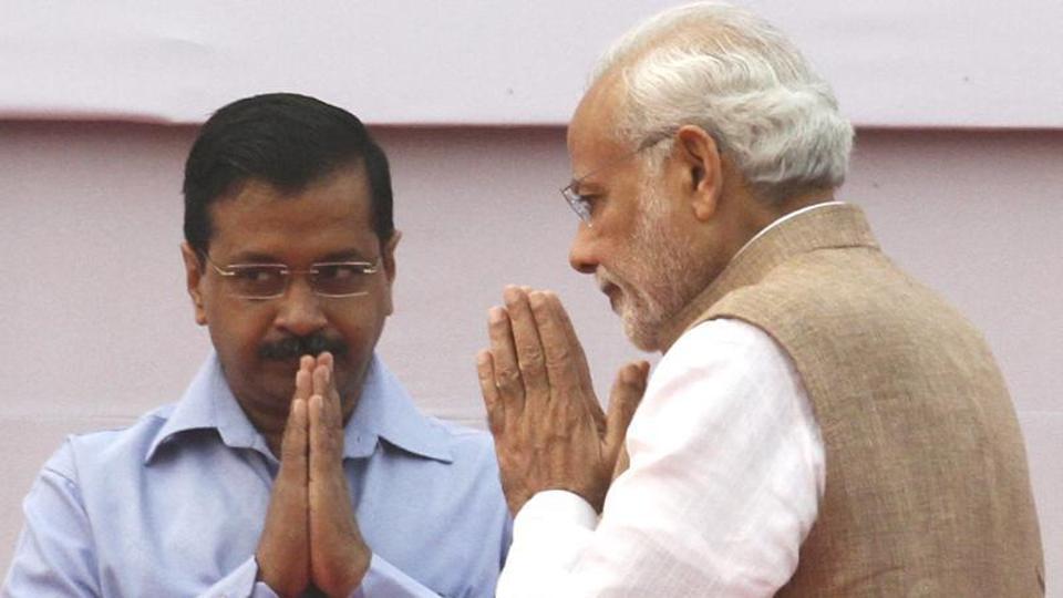 भाजपा का चुनाव प्रचार दे रहा है केजरीवाल के सामने घुटने टेकने का संकेत