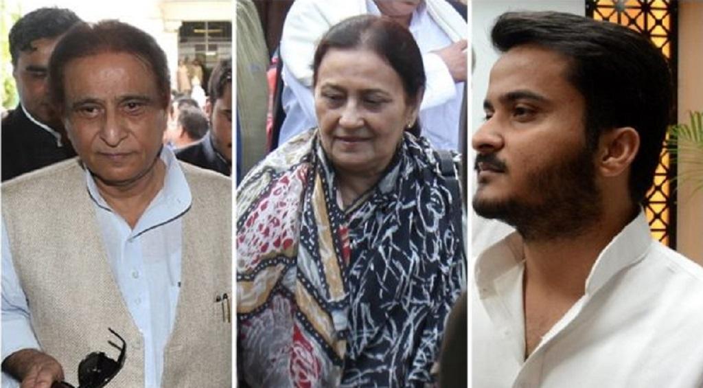 कल कुर्की आज पत्नी और बेटे के साथ जेल भेजे गए आजम खान