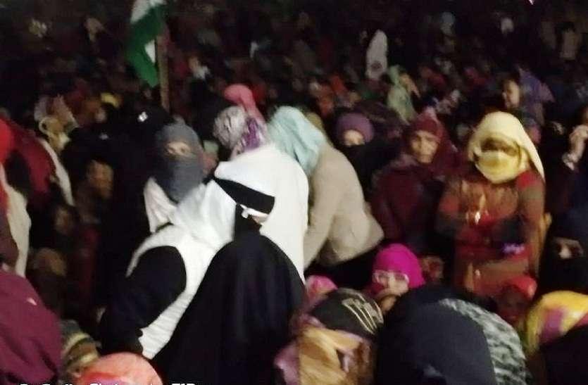AMU के पूर्व छात्र का बुर्का पहन महिलाओं को भड़काने का फोटो वायरल