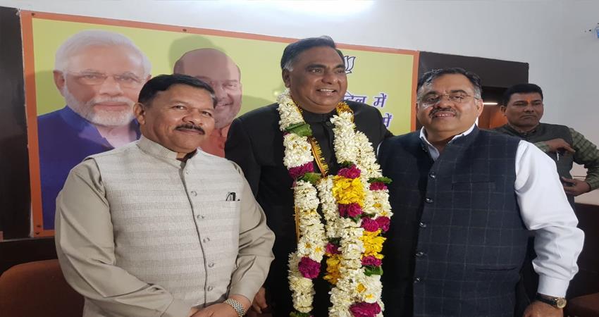 भाजपा के कद्दावर नेता रामवीर बिधूड़ीबने दिल्ली के नेता प्रतिपक्ष