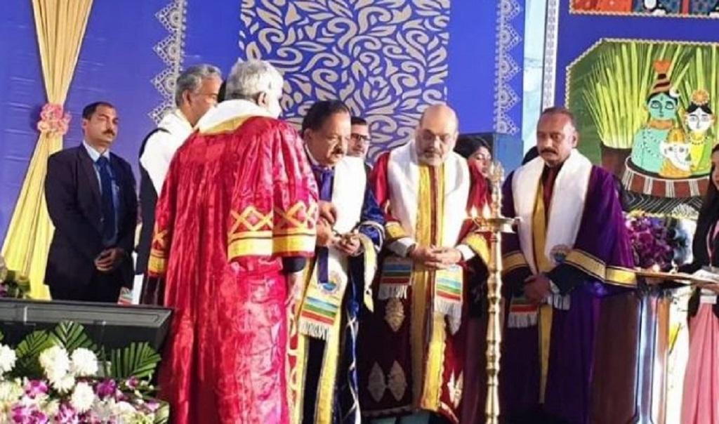 अखिल भारतीय आयुर्विज्ञान दीक्षांत समारोह को गृह मंत्री अमित शाह ने किया संबोधित