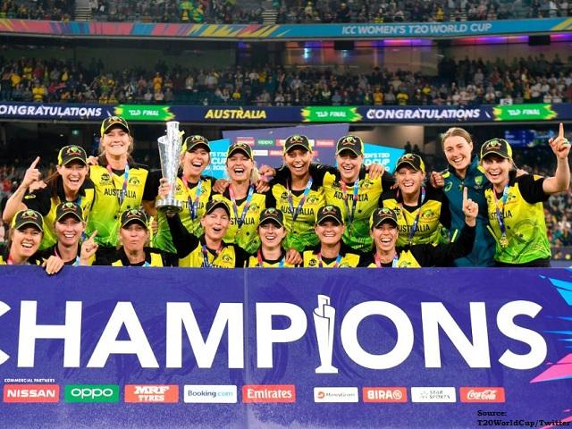 T20 Women's World Cup: ऑस्ट्रेलिया ने भारत को 85 रन से फाइनल में हराया