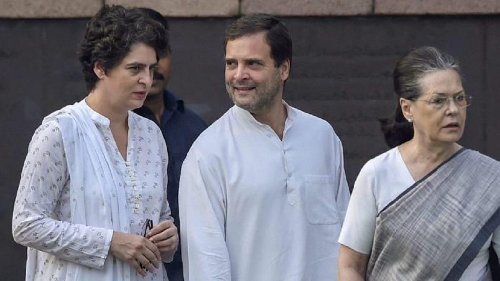 कोरोना को लेकर गांधी परिवार पर BJP नेता के विवादित बोल, कहा इटली से लौटे हैं जांच कराओ