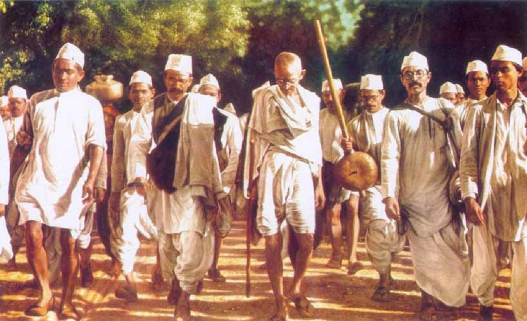 दांडी यात्रा के लिए इस तरह24 दिनों तक पैदल चले थे गांधीजी