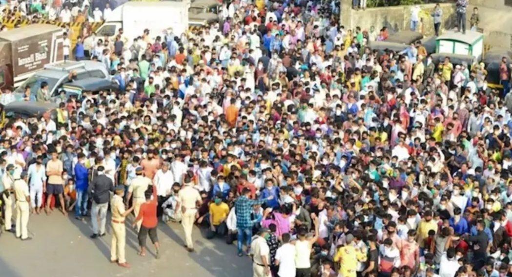 बांद्रा स्टेशन पर 'चलो घर की ओर' कैम्पेन चलाने वाला व्यक्ति गिरफ्तार, 1000 पर केस दर्ज