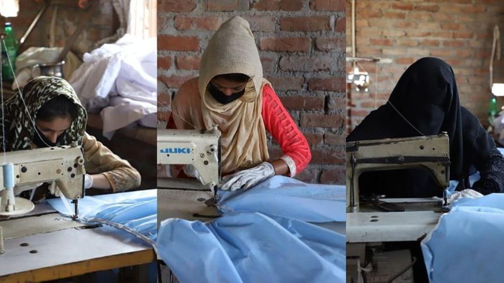 दिल्ली दंगा में जिनका जला दिया गया घर वो बना रहीं देश के लिए मास्क और PPE किट