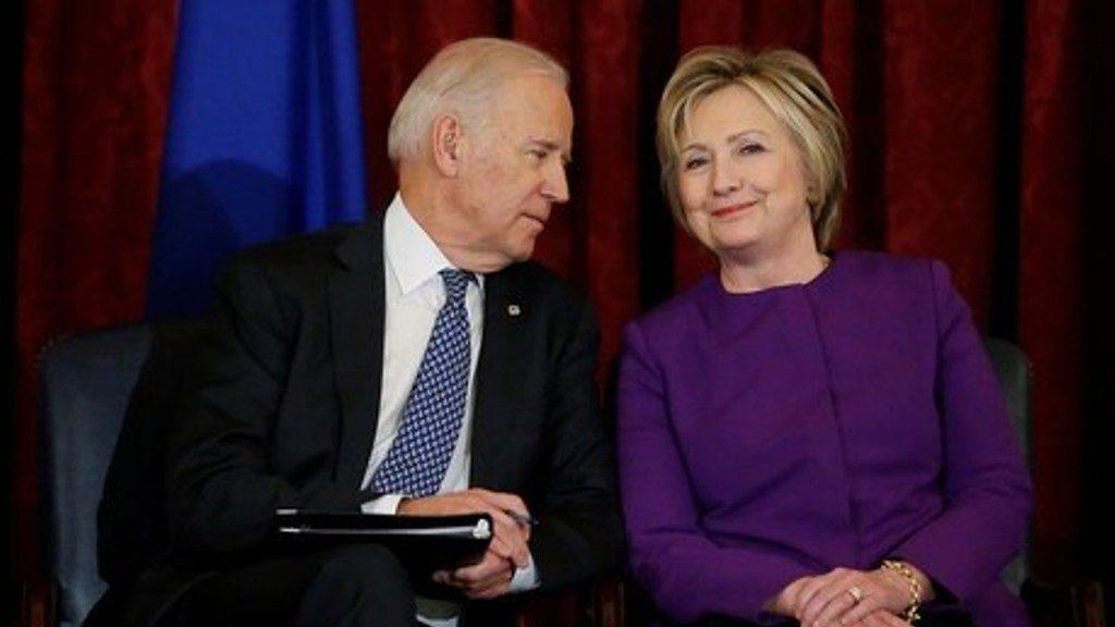US राष्ट्रपति चुनाव: डेमोक्रेट उम्मीदवार जो बाइडेन के समर्थन में आईं हिलेरी क्लिंटन