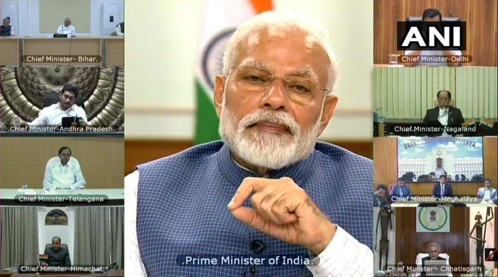 प्रधानमंत्री ने की राज्य के मुख्यमंत्रियों के साथ बैठक, राज्यों ने मांगी आर्थिक मदद