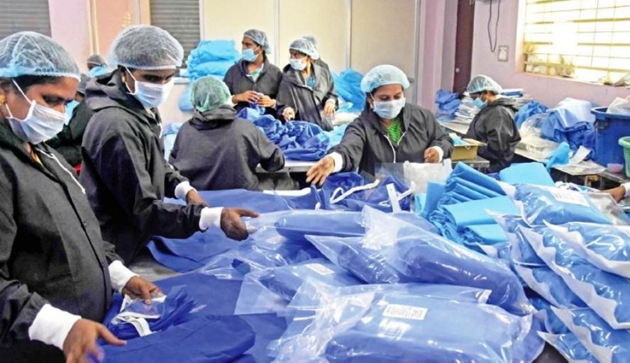 चीन से आई 1 लाख 70 हजार PPE किट्स, 50 हजार क्वालिटी टेस्ट में फेल