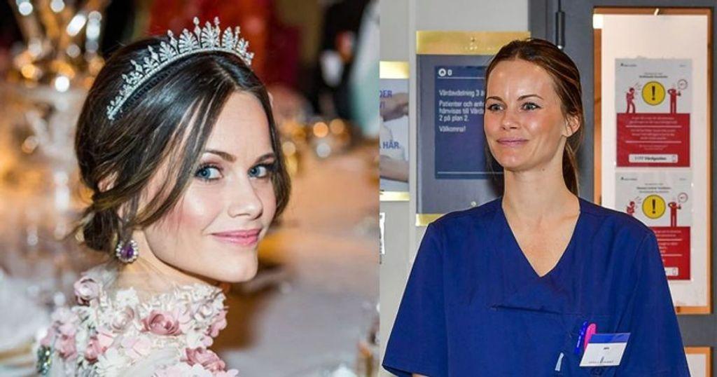 स्वीडन की राजकुमारी सोफिया कोरोना मरीजों के लिए आईं आगे, किया हॉस्पिटल कोर्स