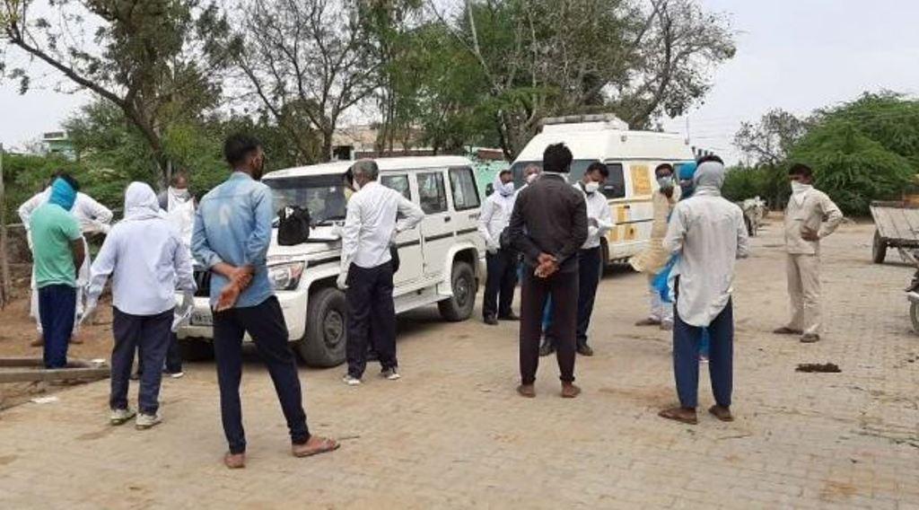 हरियाणा: निडानी में कोरोना पॉजिटिव केस मिलने बाद आसपास के 5 किलोमीटर का दायरा सील