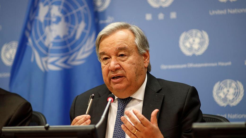 संयुक्त राष्ट्र महासचिव बोले, कोरोना महामारी नफरत की सुनामी लेकर आया है