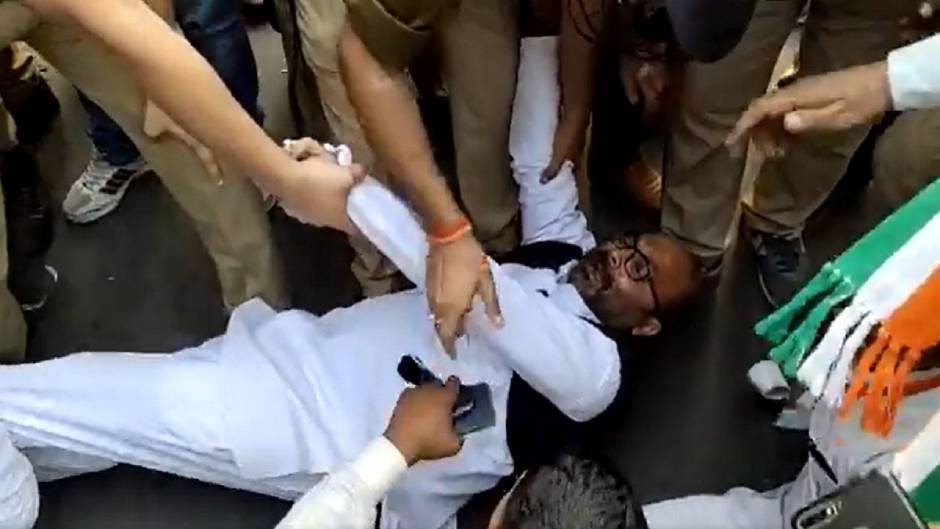 UP कांग्रेस अध्यक्ष को पुलिस ने किया गिरफ्तार, धोखाधड़ी और जालसाजी का आरोप