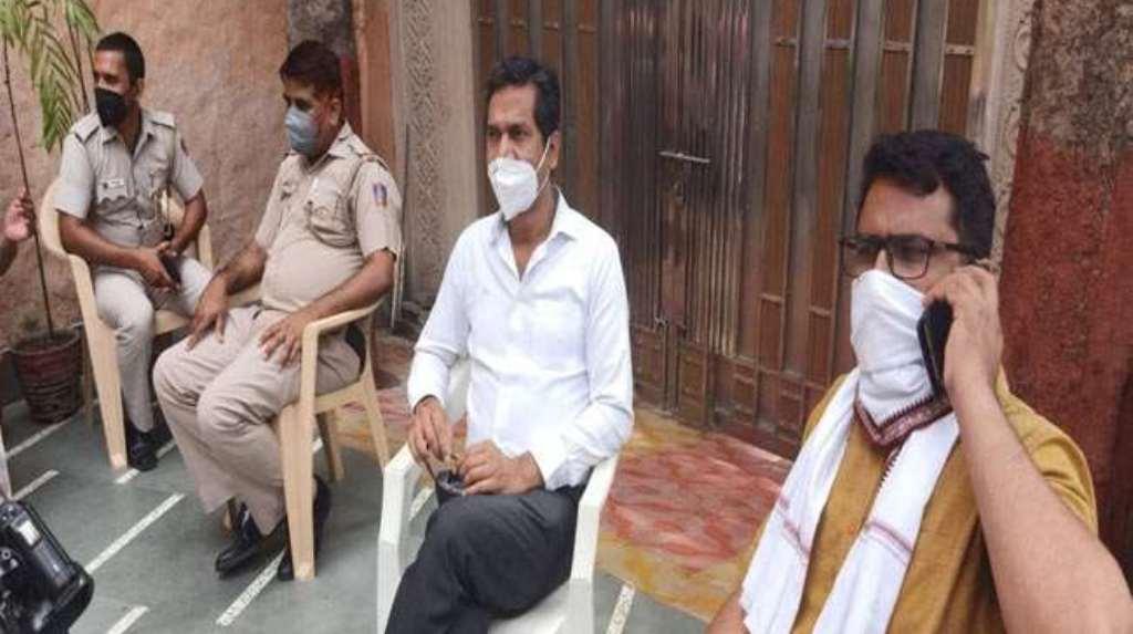 हिरासत में लिए गए दिल्ली प्रदेश कांग्रेस अध्यक्ष अनिल चौधरी