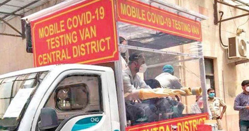 नोएडा में अब मोबाइल वैनों से होगी कोरोना वायरस की जांच