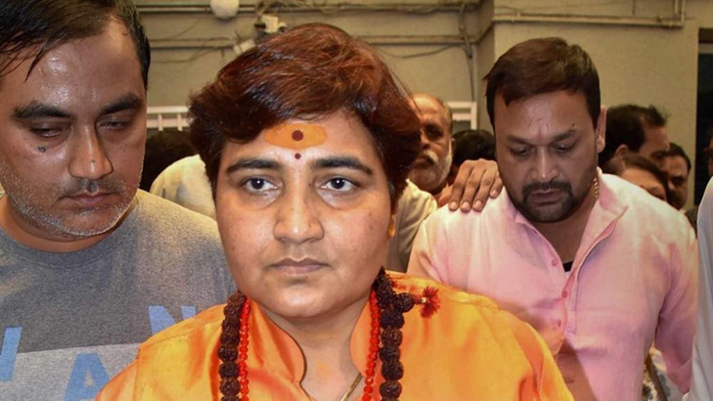 BJP सांसद प्रज्ञा ठाकुर एम्स में भर्ती, सिर और कमर में परेशानी