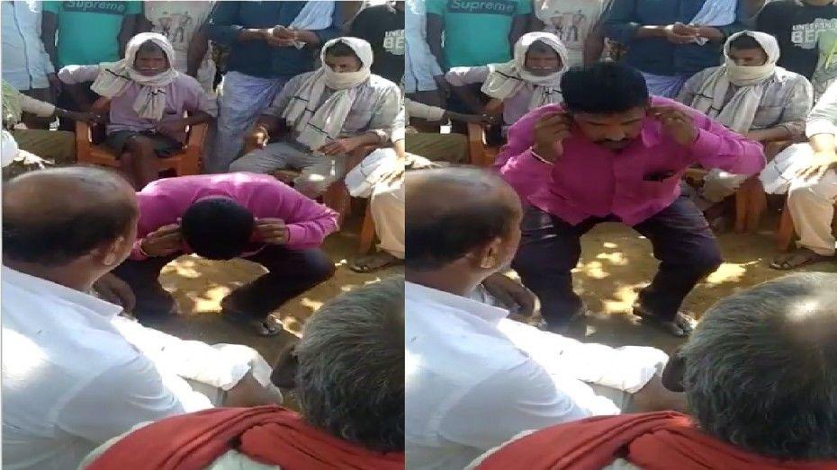 मौलाना शाद की किया बुराई तो BJP नेता की हुई पिटाई, पंचायत में लगवाई उठक-बैठक