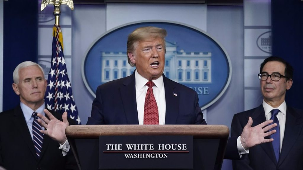 अमेरिकी राष्ट्रपति डोनाल्ड ट्रम्प ने कहा, नहीं लगेगा दोबारा देश में लॉकडाउन