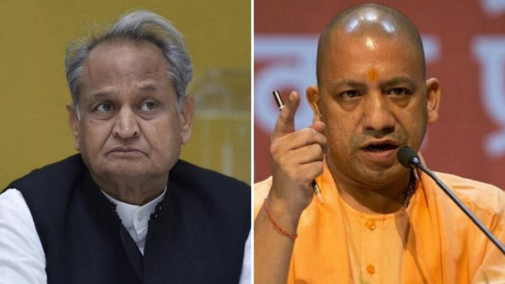 राजस्थान पहुंचा बस विवाद, गहलौत ने योगी को भेजा 36 लाख का बिल