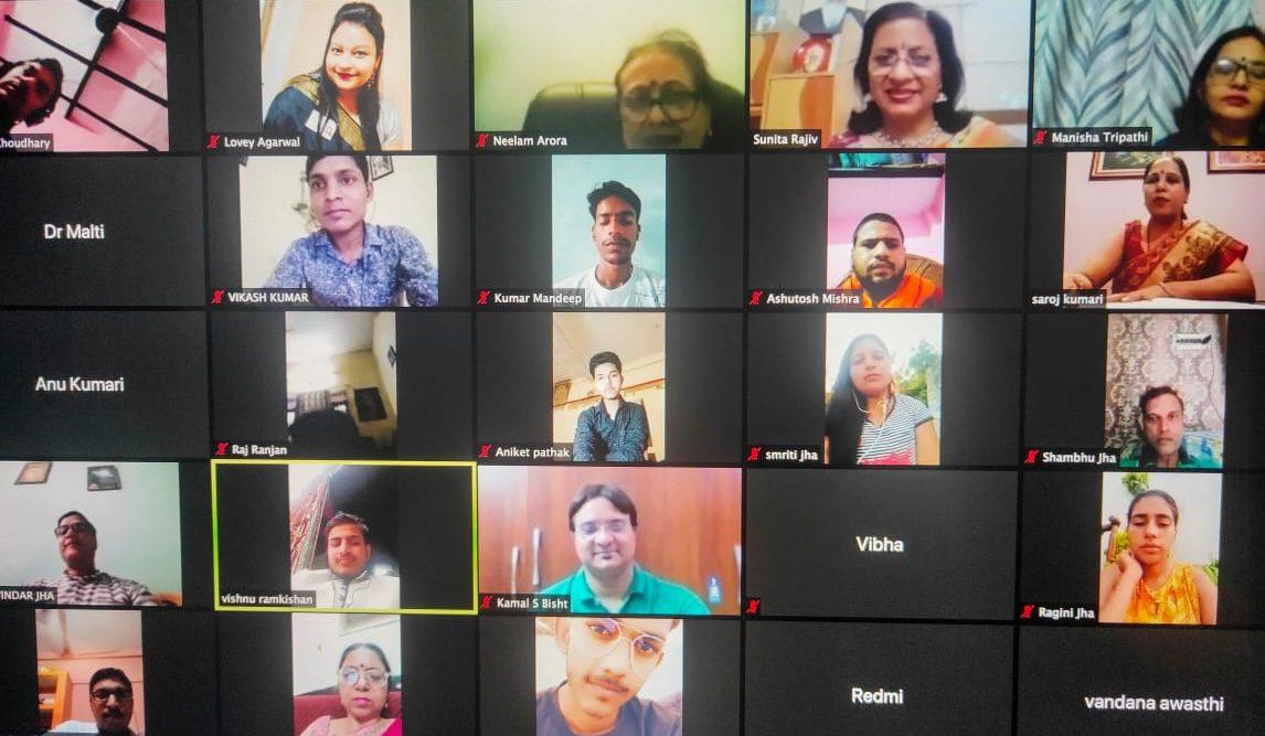 'मे आई हेल्प यू' संस्था के माध्यम से कोरोना काल में त्रि-दिवसीय ऑनलाइन काव्योत्सव का आयोजन