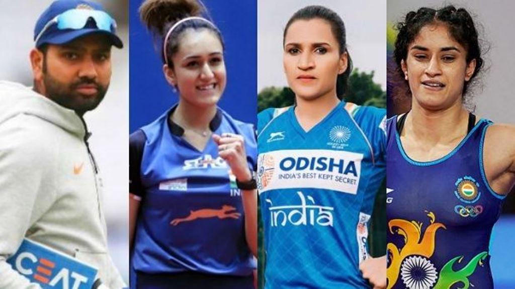 रानी रामपाल, विनेश फोगाट और मनिका बत्रा खेल रत्न पुरस्कार के लिए नॉमिनेट
