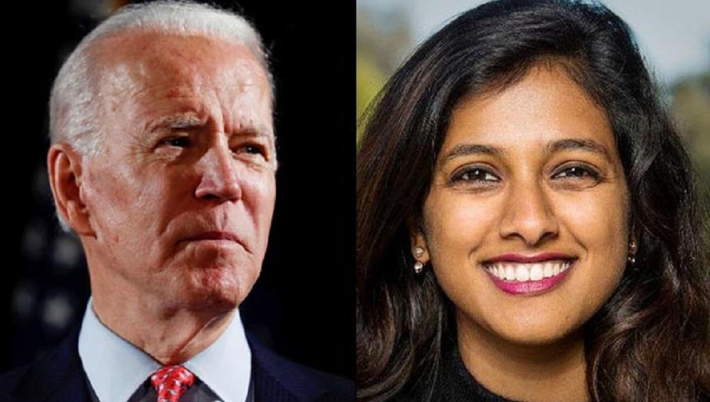 भारतीय मूल की अमेरिकी मेधा राज बनी बिडेन के चुनाव कैम्पेन की डिजिटल प्रचार प्रमुख