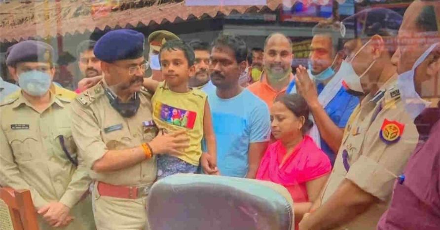गोंडा में UP पुलिस ने उद्योगपति के 6 वर्षीय बच्चे को किडनैपर से 12 घंटे में छुड़ाया