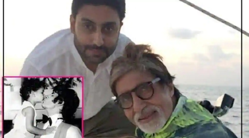 अमिताभ बच्चन ने शेयर की बेटे अभिषेक और बेटी श्वेता की पुरानी तस्वीर, कही ये बात