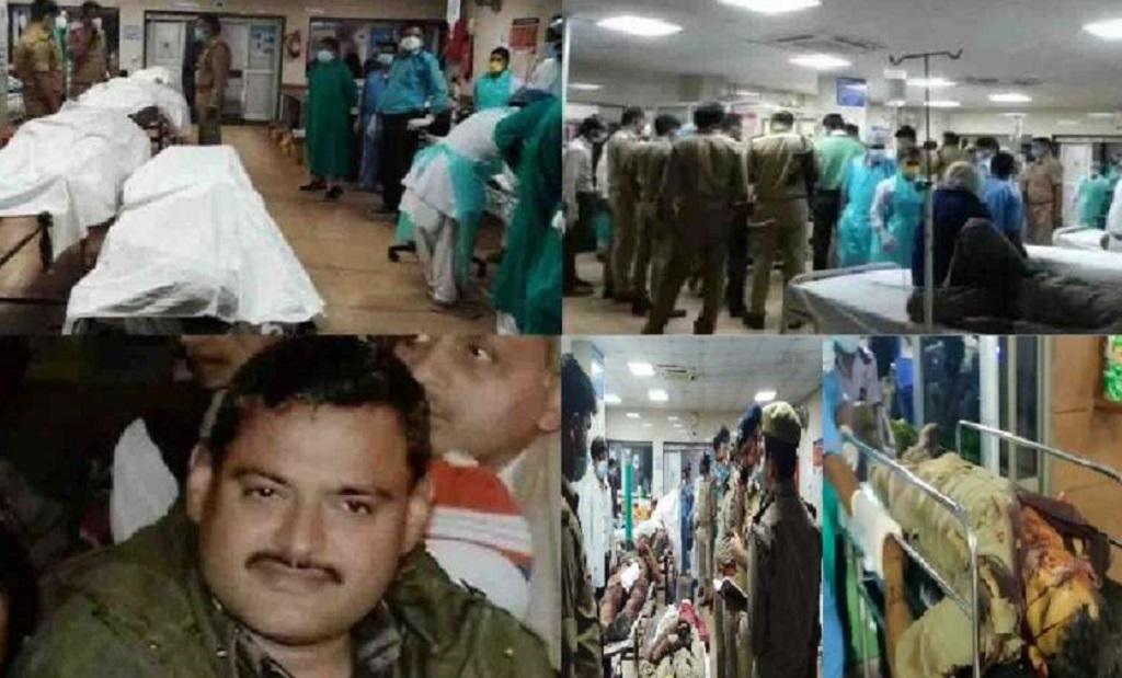 कानपुर में हिस्ट्रीशीटर विकास दुबे को पड़ने गए 8 पुलिसकर्मियों की हत्या, CM योगी ने मांगी रिपोर्ट