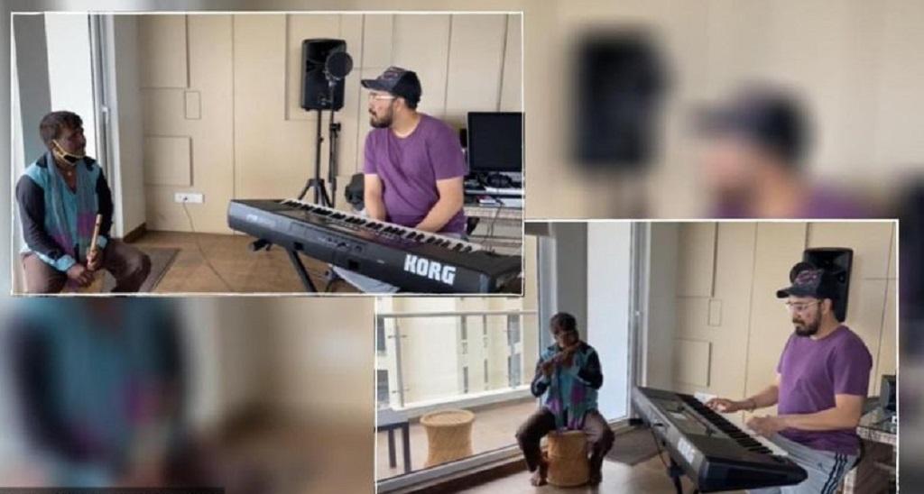 मीका सिंह रोड साइड बांसुरी बजाने वाले को घर कर किया रिकॉर्ड, वीडियो की हो रही तारीफ